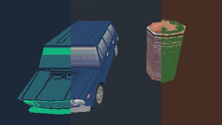 Palette Filter For 3D and 2D