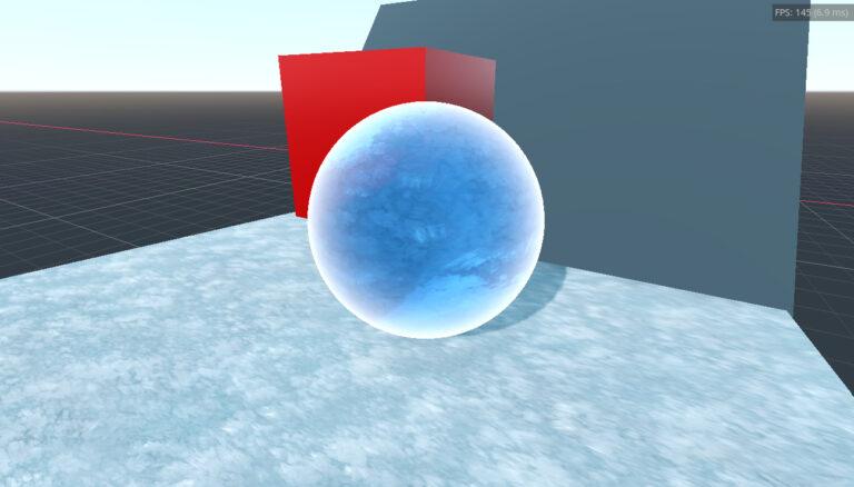 Spatial Ice Shader
