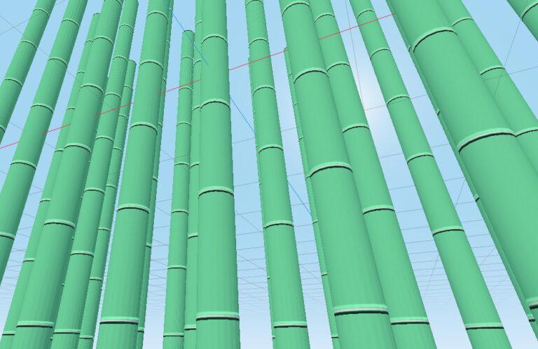 Procedural Bamboo Shader