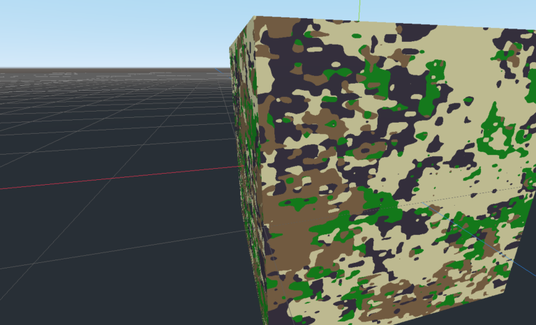 Camouflage Shader