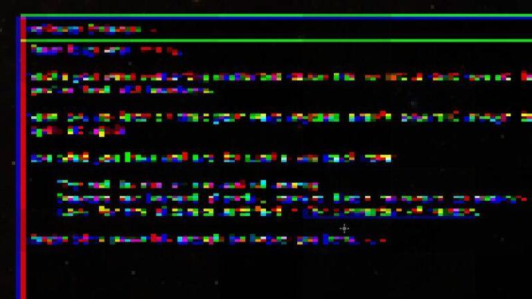 Pixelated Glitch PostEffect