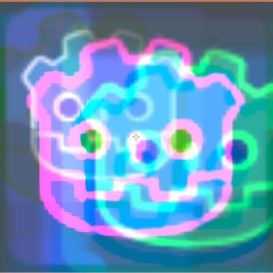 """2D Sprite """"Cartridge Tilting Glitch"""""""