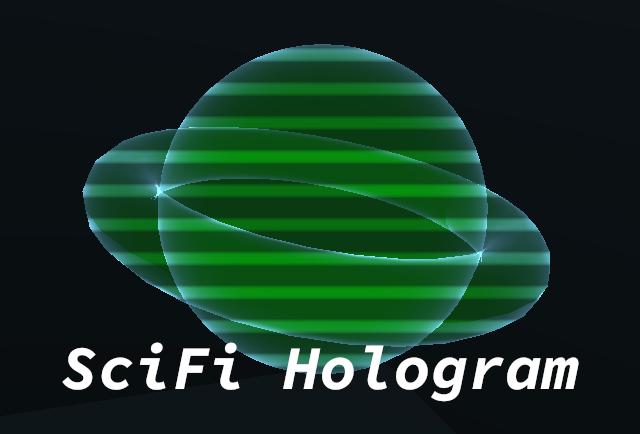 SciFi Hologram