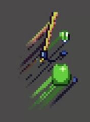 Pixel art trail