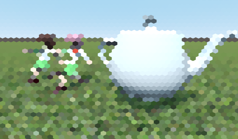 Hex Pixelization Shader