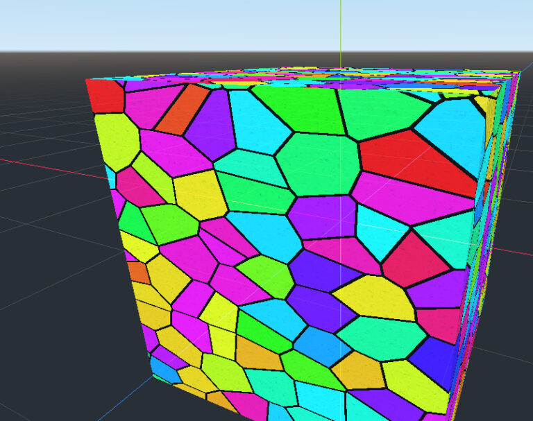 Procedural Stained-Glass Shader