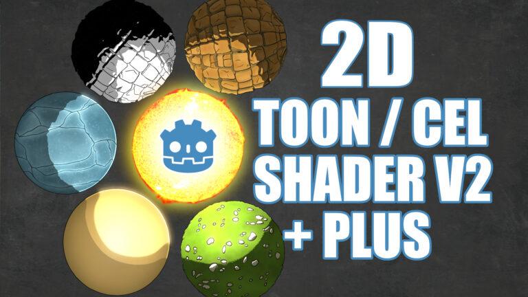 2D Cel / Toon Shader v2 +Plus
