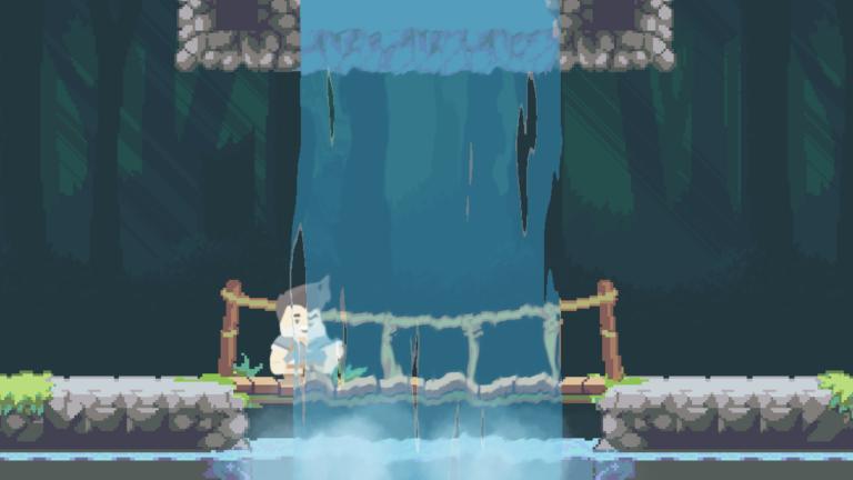 2D waterfall