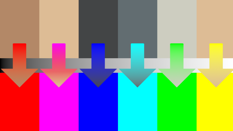 Six Channel Colour Shader