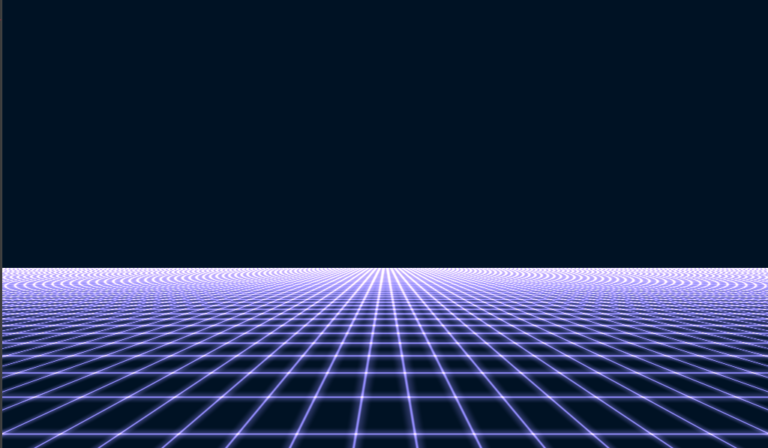 Perspective grid animated