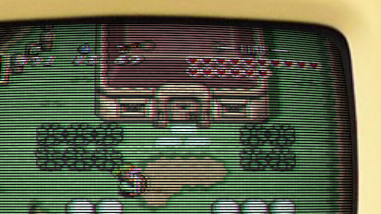 VHS and CRT monitor effect