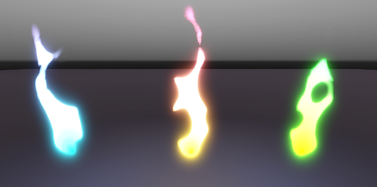 Stylized fire (3D)